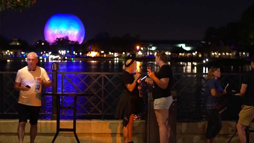 Disney's Food and Wine Festival and Eat to the Beat at Epcot