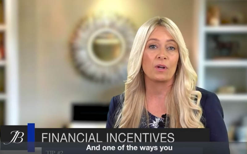 Real Estate Tip #2 Financial Incentives With Jamie Bevelacqua