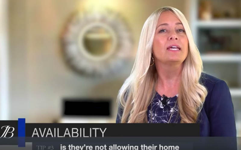 Real Estate Tip #3—Showing Availability—With Jamie Bevelacqua
